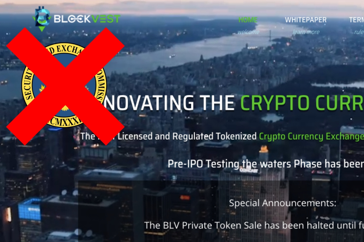 Scam Crypto Website is Using Fake SEC Badge as a Sign of Approval