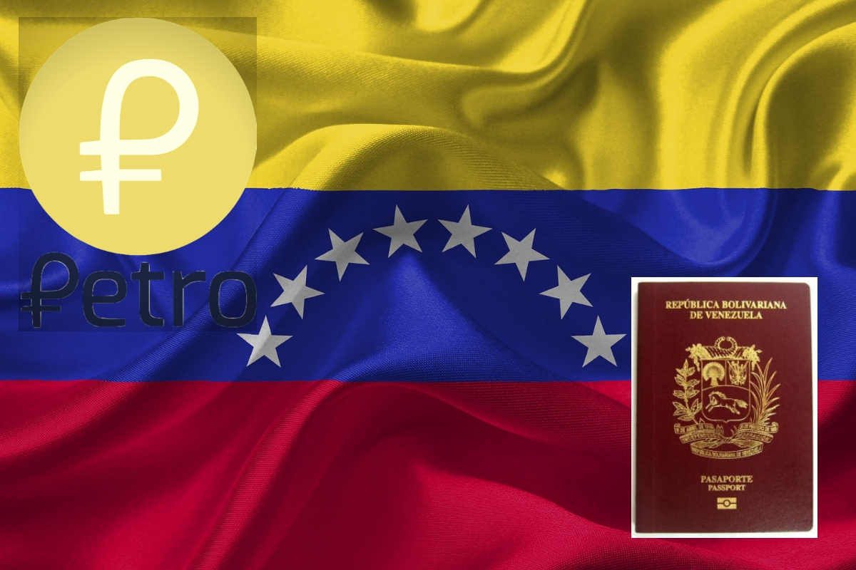 Henceforth All Passport Payments in Venezuela is to be Done Using Petro