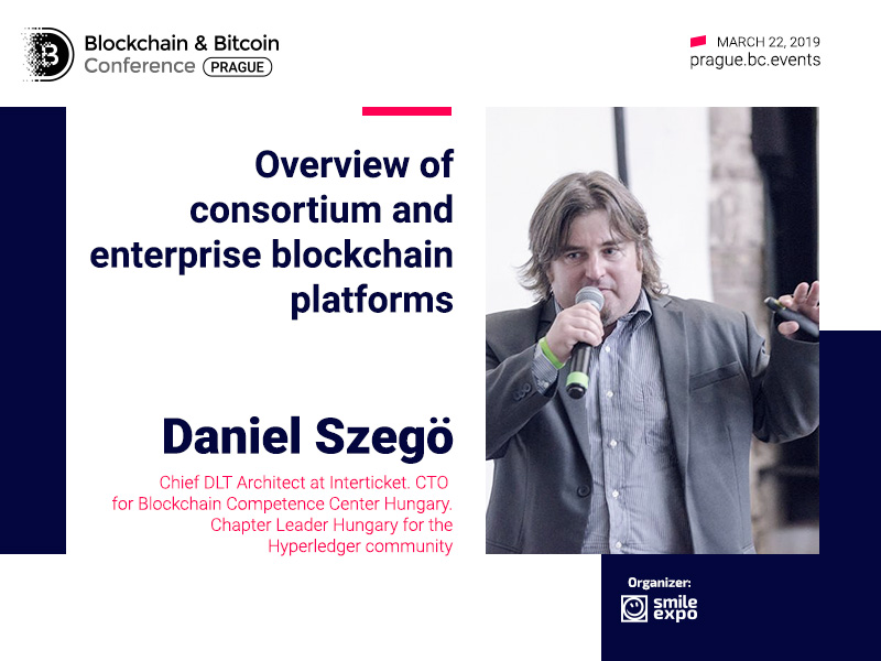 Consortium and enterprise blockchain: what is the difference? DLT Architect Daniel Szegö will highlight the issue