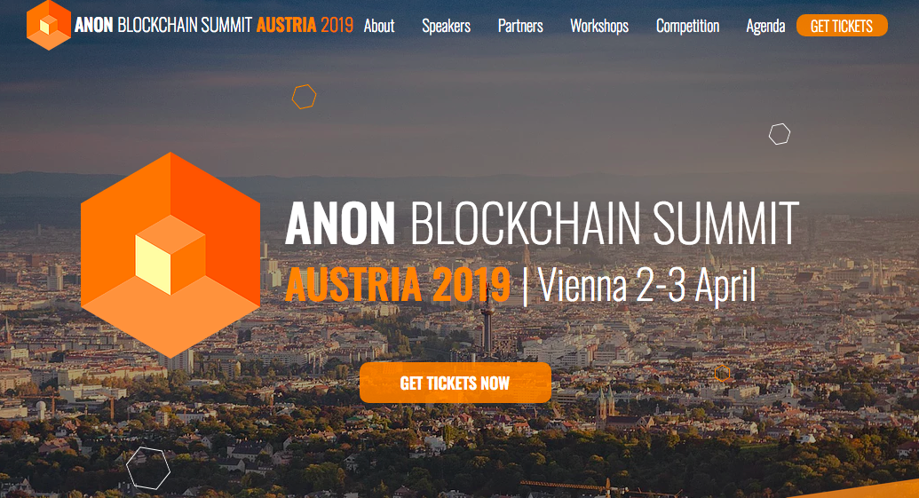 ANON Blockchain Summit Austria 2019
