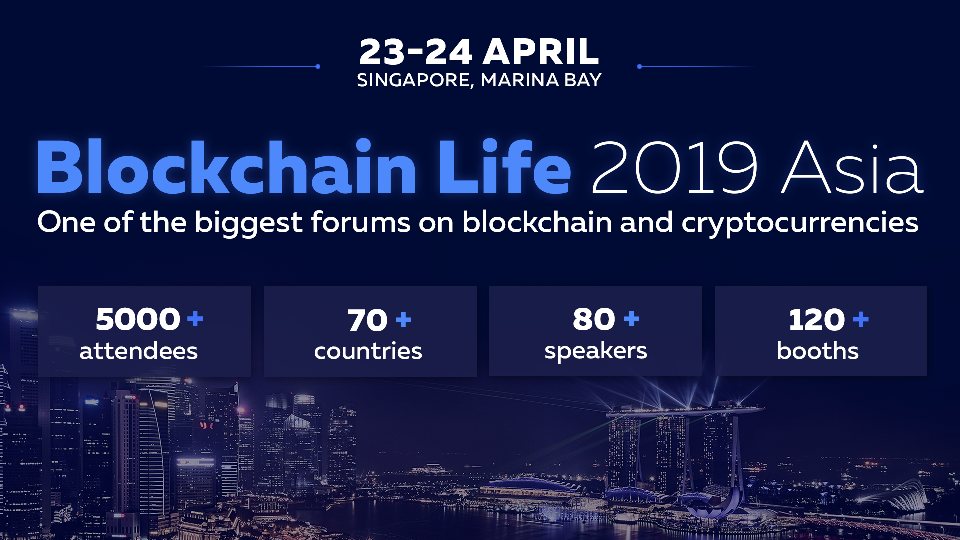 The Global Forum Blockchain Life 2019 Welcomes 5000+ Attendees
