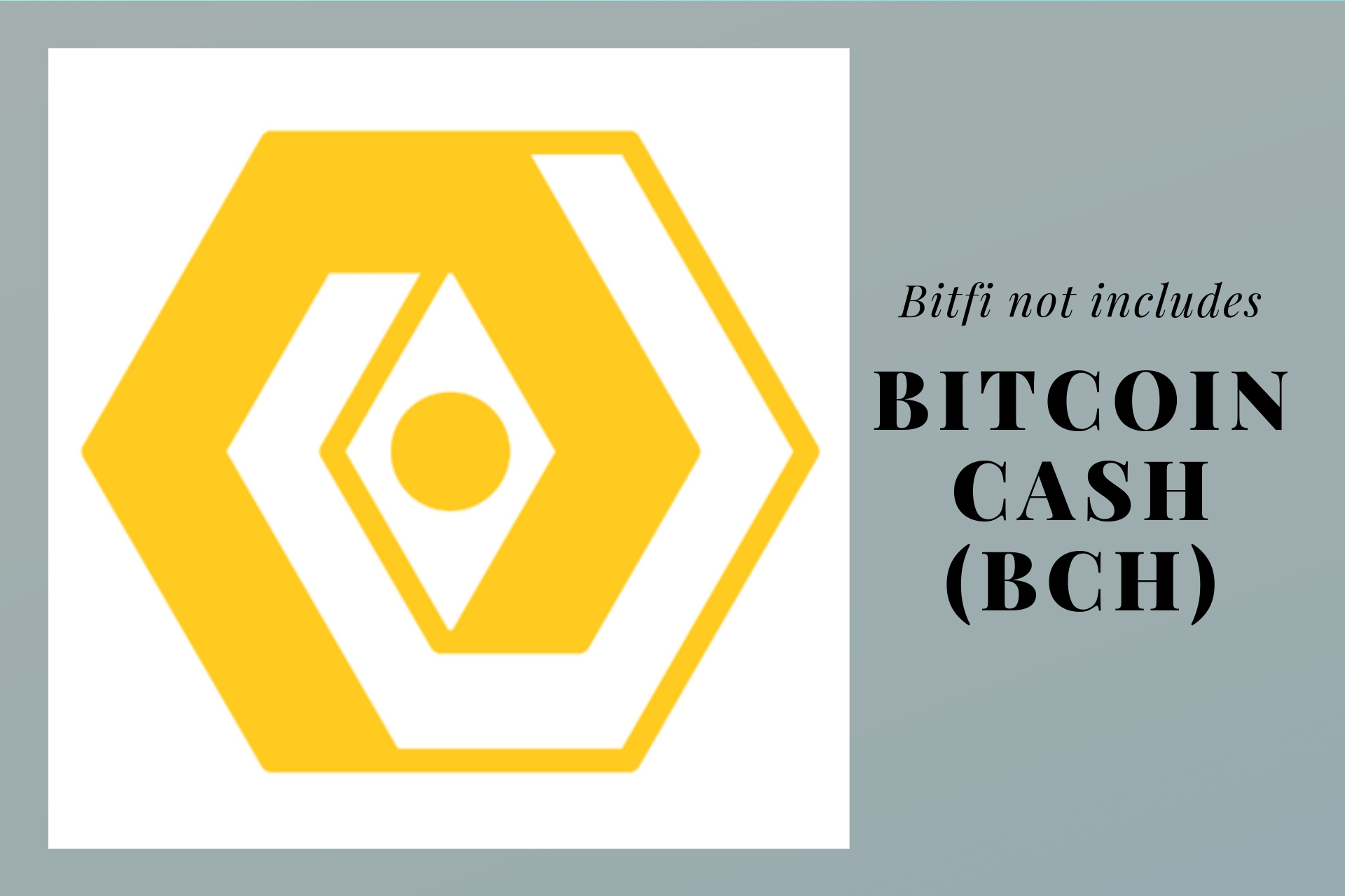 Bitfi Refuses To Support Bitcoin Cash (BCH)