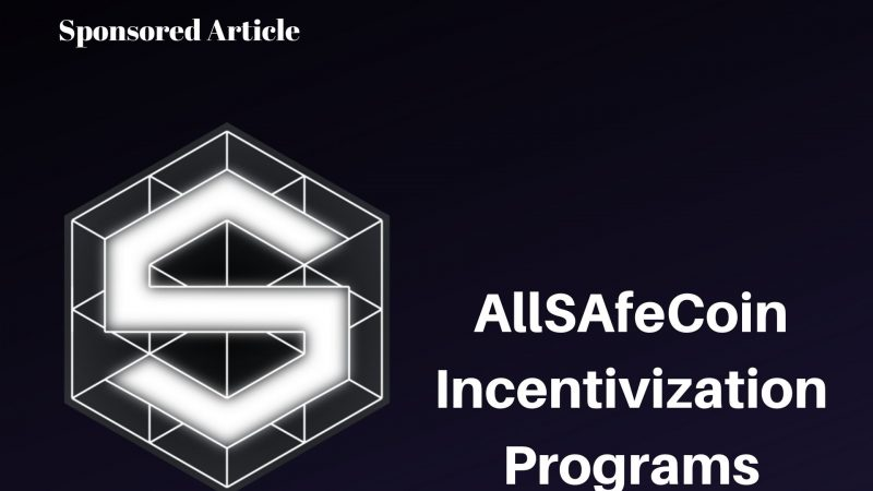 AllSafe Incentivization Programs Where You Can Earn Passive Income and Enjoy Special Deals