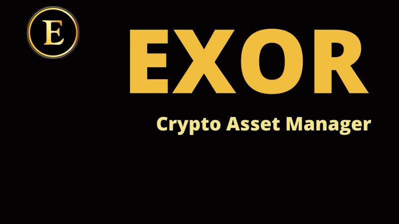 Exor Coin and the Crypto Asset Manager Application