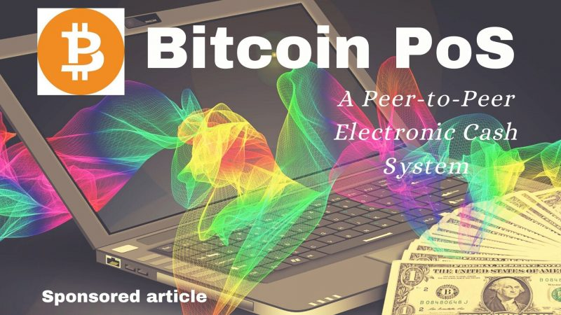 Bitcoin Proof-of-Stake: A Peer To Peer Electronic Cash System Reducing Miner Dependability
