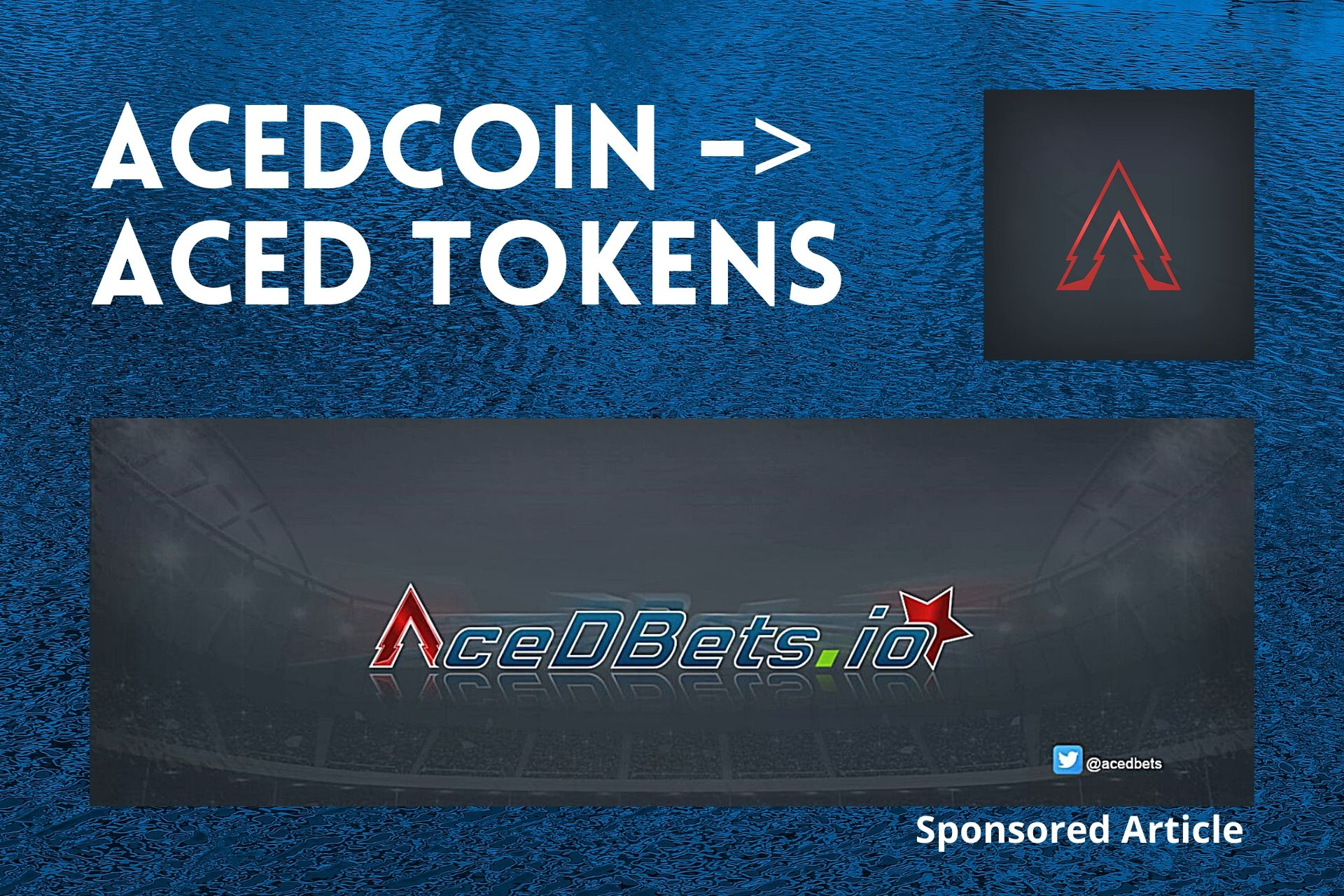 AceDcoin Will Be Switching to Ethereum Network With AceD Swapping to AceD Tokens