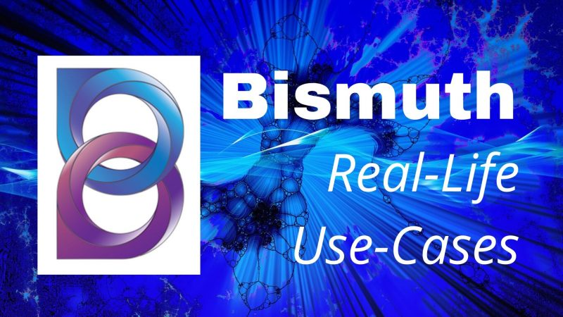Bismuth Blockchain: The Ideal Platform For Distributed Condition Monitoring of EV Batteries And Other Real-Life Use-Cases