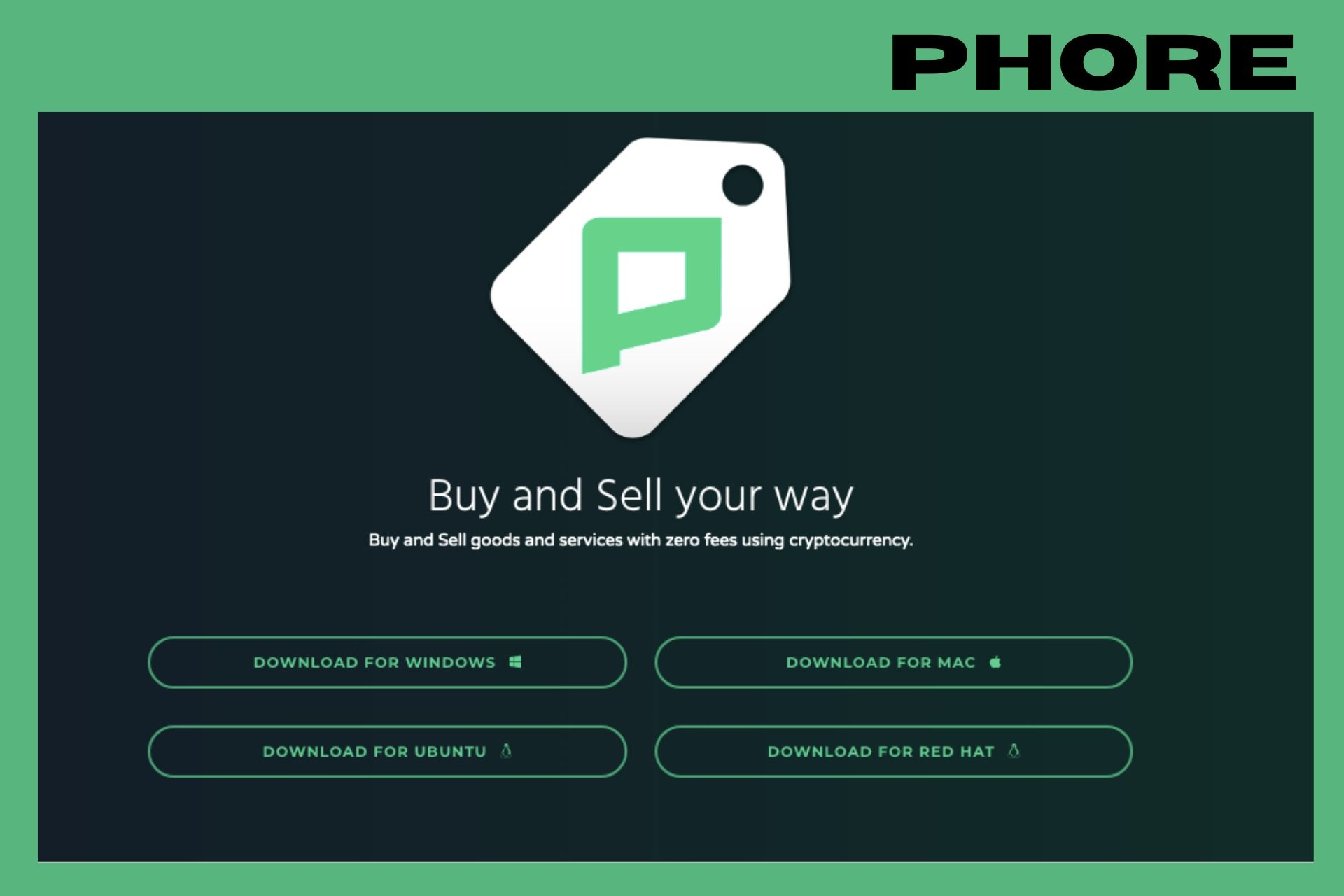 Phore Introduces A New Web Browser to Access Its Decentralized Marketplace