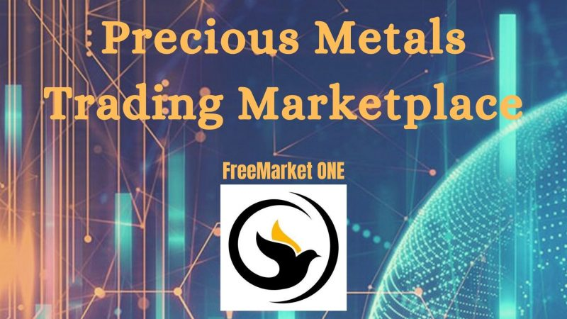 FreeMarket ONE Launches the Second Alpha Version of Its Decentralized Anonymous Marketplace for Precious Metals Trading