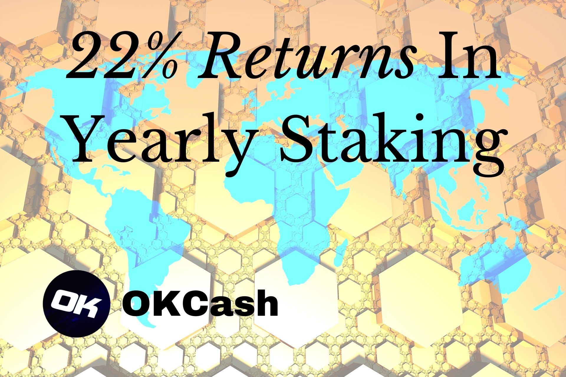 Proof-of-Stake Bitcoin OKCash Announces 22% Returns In Yearly Staking Rewards, Network Growth Accelerates