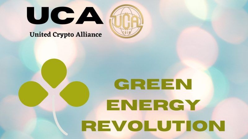 UCA Coin: Steering Green Energy Revolution Using the Power of Cryptocurrency