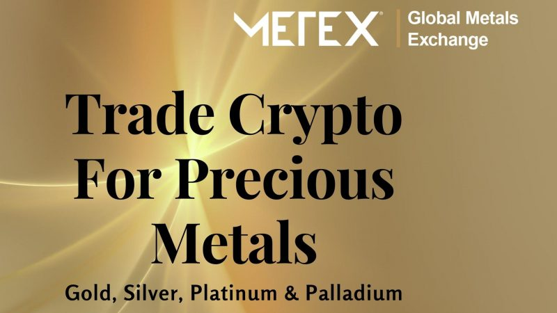 METEX: Bringing Precious Metal Trading To Worldwide Investors Using the Power of Blockchain-based Tokenization