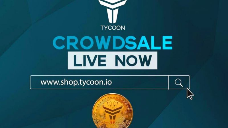 Crowdsale Is Live Now: Tycoon Unveils Token Online Shop