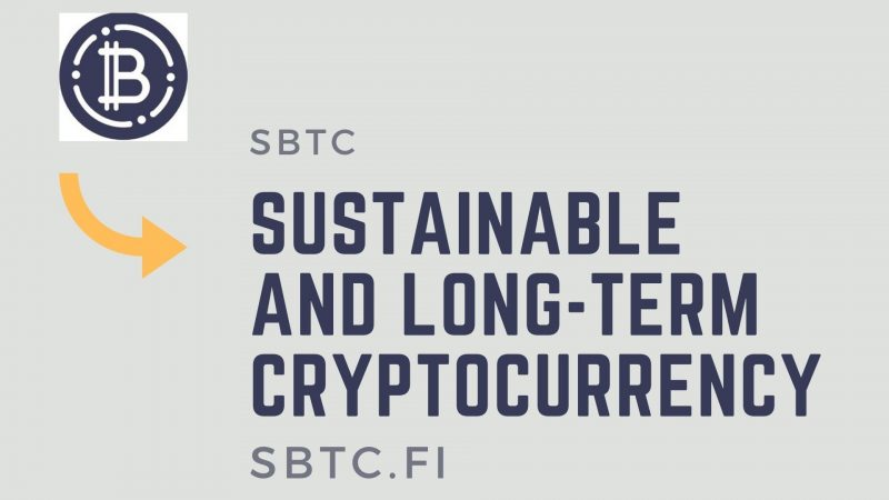 Soft Bitcoin (sBTC): A Sustainable and Long-term Cryptocurrency Pegged to Bitcoin